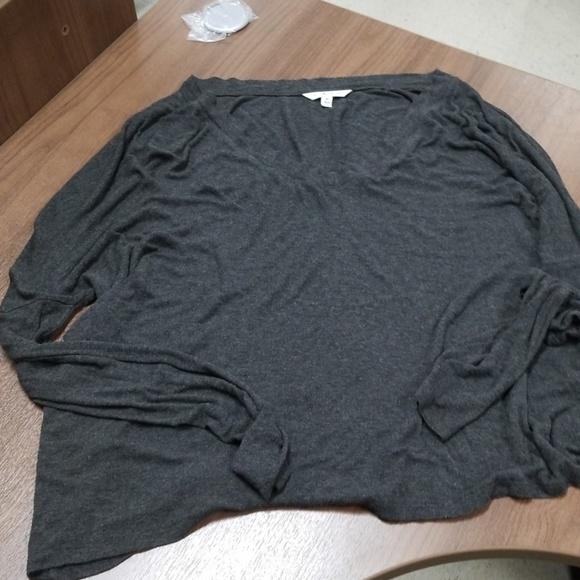 CAbi Tops - Cabi gray long sleeve shirt